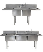 Sterile Processing Clean Up Sinks